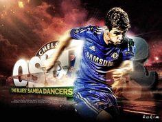 Oscar dos Santos Emboaba Júnior Chelsea 2012-2013 HD Best Wallpapers