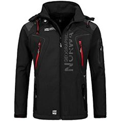 Geographical Norway Men's Softshell Function Outdoor Jacket water resistant