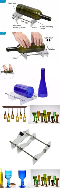 Only US$28.33, buy best DIY Glass Wine Bottle Cutter Cutting Machine Jar Kit Craft Machine Recycle Tool sale online store at wholesale price.US/EU warehouse.