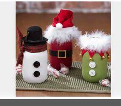 bonhomme de neige Sacs En Papier Fête De Noël Traiter Candy Sweet Loot Déjeuner Boîte Cadeau 6 Santa