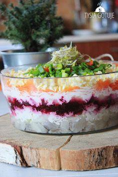 Przepisy na śledzie (14 pomysłów) | Tysia Gotuje blog kulinarny Tiramisu, Salads, Pudding, Ethnic Recipes, Food, Christmas, Breakfast Omelette, Xmas, Custard Pudding