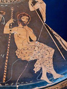 Agamennone, da un frammento conservato al Museo Nazionale Archeologico di Taranto