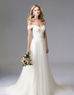 Wonderful Perfect Wedding Dress For The Bride Ideas. Ineffable Perfect Wedding Dress For The Bride Ideas. Classic Wedding Dress, Wedding Dress Trends, Perfect Wedding Dress, Wedding Ideas, Wedding Venues, Unusual Wedding Dresses, Simple Wedding Gowns, Perfect Bride, Wedding Destinations