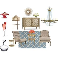 Glam 4th of July Decor