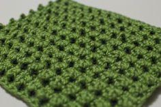 Treble Crunch Block - Crochet stitch pattern by Shibaguyz Designz by shana Crochet Potholders, Crochet Blocks, Crochet Squares, Crochet Motif, Crochet Crafts, Crochet Yarn, Crochet Projects, Free Crochet, Crochet Tutorials