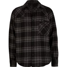 BLUE CROWN Bubba Boys Flannel Shirt ($4.97) ❤ liked on Polyvore
