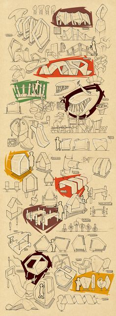 Product design sketchbook.