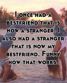 Not necessarily best friends but friends & I appreciate the new friendships very much!
