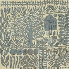 Illustration by Marina Strocchi Art Inspo, Kunst Inspo, Art And Illustration, Kunst Der Aborigines, Motifs Textiles, Arte Country, Guache, Art Textile, Aboriginal Art