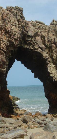 """Holed Stone"" / Pedra Furada - Jericoacoara Beach- Ceará - Brazil"