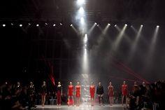 Pokaz najnowszej kolekcji Agnieszki Maciejak, Wola Center, listopad 2013   fot. Jakub Pleśniarski / LaMode