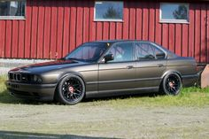 1991 BMW M5 E34 with a turbo inline-six made from a S38 head and M30 block