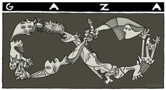 Guernica, Pablo Picasso, Street Art, Humor Grafico, Popular Culture, Mythology, Sculptures, Drawings, Spanish