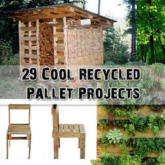 29 Cool Recycled Pallet Projects - SHTF Preparedness