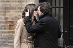 Keira Knightley and Guillaume Canet LAST NIGHT