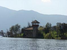 Isla Punhuapi. Laguna de Aculeo
