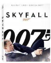 New Release Movies  Skyfall [Blu-ray]  Directed by Sam Mendes  Price: $24.99  Pre Order on Amazon  Daniel Craig is back as James Bond 007 in SKYFALL, the 23rd installment of the longest-running film franchise in history.  Released on: 2013-02-12  Rating: PG-13 (Parental Guidance Suggested)  Format: Widescreen