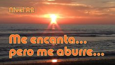 Me encanta... pero me aburre... Nivel A2 - YouTube Celestial, Sunset, Youtube, Spanish, Movies, Movie Posters, Outdoor, Roman Empire, Outdoors
