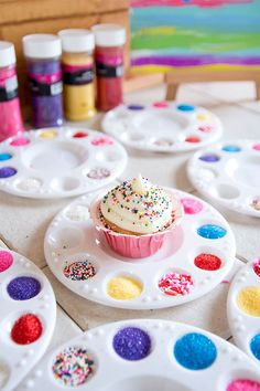 Go for an edible DIY + add a cupcake station where the kids can decorate their own.
