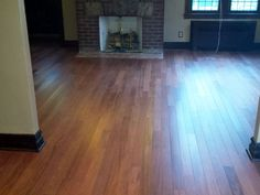 Brazilian Cherry with a Matte Finish - the look of an oil-finished floor without the crazy maintenance!