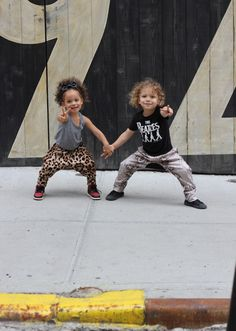 both wearing the most adorable harem pants which called for a mini photo shoot asap! #AdorablePants #Pants #Kids