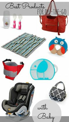 10 Best Products for When You're On-The-Go With Baby