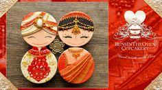 Bollywood Wedding Cupcakes