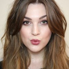middle part hairstyles with bangs - Google Search