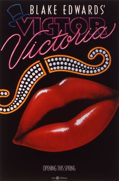 "MP794. ""Victor Victoria"" Movie Poster by John Alvin (Blake Edwards 1982) / #Movieposter"