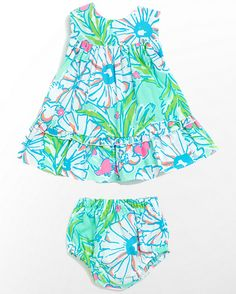 LILLY PULITZER - BABY CALDWELL DRESS