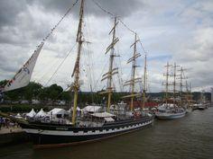 Kruzenstern - Rouen Armada 2013