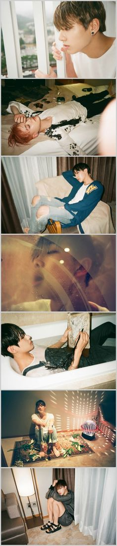 The I Need U photoshoot gets me everytime tho. As well as the MV
