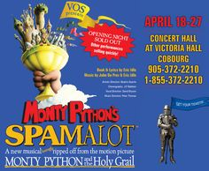 The VOS Website has gotten a Spamalot makeover...