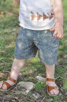 my sparkle: Handmade Kids Clothing Swap - sailboat shorts