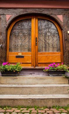 door... Colmar, Haut-Rhin, France