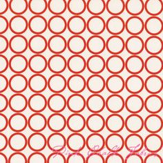 Metro Living Circles Carrot  Great fabric website
