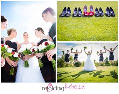 Central Ohio Wedding Photographer, Ray and Kim | Married; Red Shoes, Medina Ohio, Ohio, Wedding Photography, Candy Apple Red Wedding, Bridesmaids