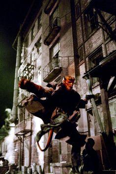 "Ron Perlman in ""Hellboy"" Hellboy 2004, Hellboy Movie, Super Hero Outfits, Super Hero Costumes, Ron Perlman, Alternate Worlds, Mike Mignola, Fantasy Movies, Superhero Movies"
