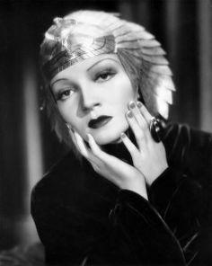 The Art Deco Cleopatra: Claudette Colbert