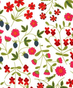 "sugarmeows:""Mirabelle"" fabric (1962) from Liberty of London"