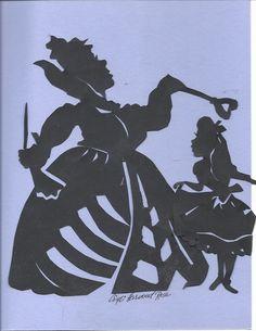 Alice In Wonderland Characters Silhouette Silhouette cindi wonderland
