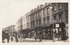 This stretch of shops has since been demolished and replaced with the NK Convenience store and modern flats. These shops were opposite the Boston Arms / Boston Hotel. Camden London, Old London, North London, Junction Road, London History, Vintage London, Old Photos, 1980s, Boston