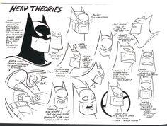 batman head theories