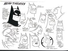 batman head theories