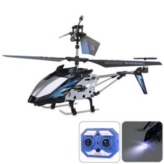 Lian Sheng LS - 222 Mini Infrared RC Helicopter - Black