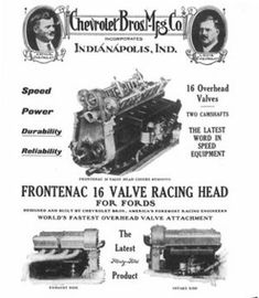 History of Louis Chevrolet - Generations of GM