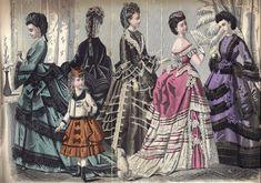 Dressing a Lady – circa 1872