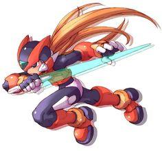 Zero - Characters & Art - Mega Man Zero 2