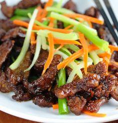 The Bestest Recipes Online: Beef a la Sichuan