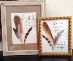 an easy way to make your own art using nature. Would make great gifts.